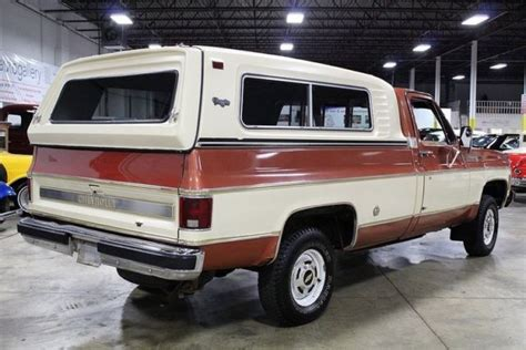 chevrolet gmc full size gas pick ups 88 98 c k classics 99 00 haynes repair manual 1977 chevrolet cheyenne 31863 miles russet orange pickup truck 350ci v8 4 speed