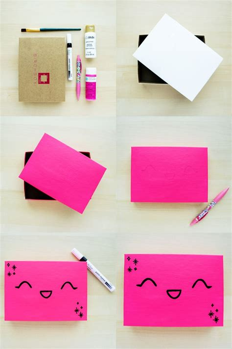kawaii box template printable diy and crafts pinterest diy upcycled kawaii box click through for instructions
