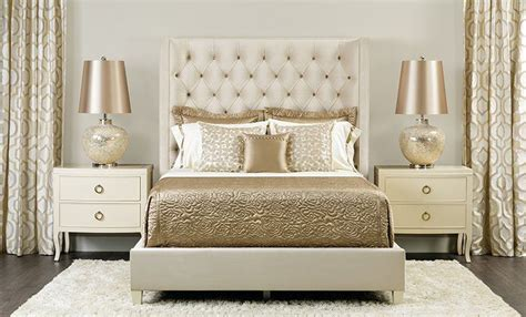 cream and gold bedroom furniture gold and cream bedroom glamourous home pinterest