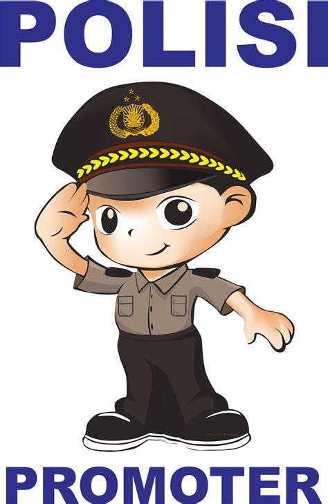 wallpaper animasi polisi gambar gambar kartun polisi bhayangkari bliblinews