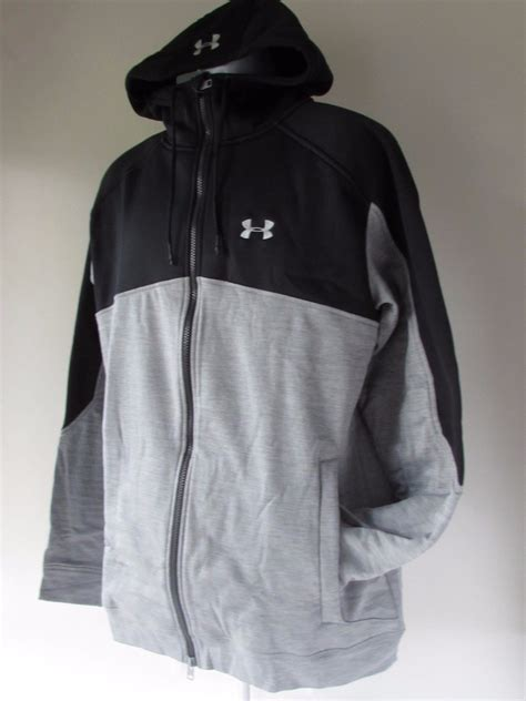 Sweater Jaket Zipper Hoodie Armour Athleticsgray 99 armour expanse zip fleece lined hoodie jacket mens gray black size l what s it worth