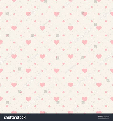 heart pattern download mp3 retro seamless pattern pink hearts dots stock vector