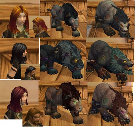 druid colors worgen druid form colors restokin