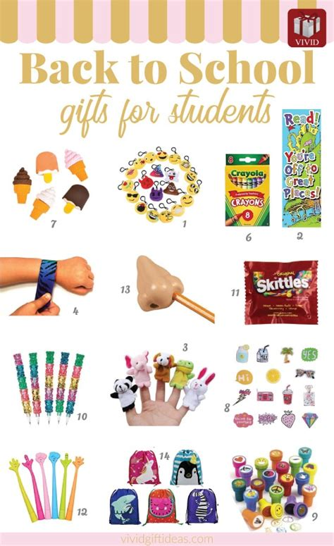 list of gifts to school children best back to school gifts for students from