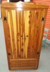 bedroom vintage cedar wood armoire wardrobe for closet