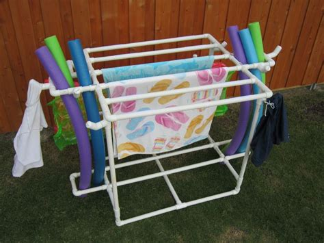 Pvc Pipe Towel Drying Rack by Discover And Save Creative Ideas