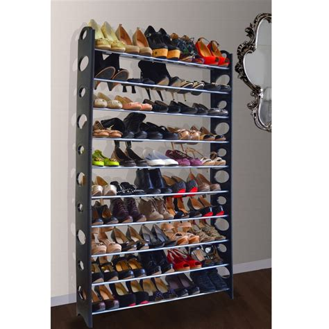 Shoe Storage For 50 Pairs 28 Images Black 10 Tier 50