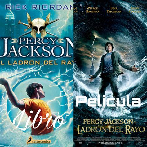 libro el ladron del rayo alma ajena rese 241 a libro vs pelicula percy jackson y el ladr 243 n del rayo