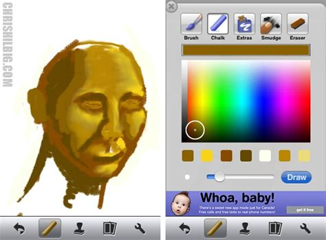 how to use smudge on doodle buddy back from the road chris hilbig