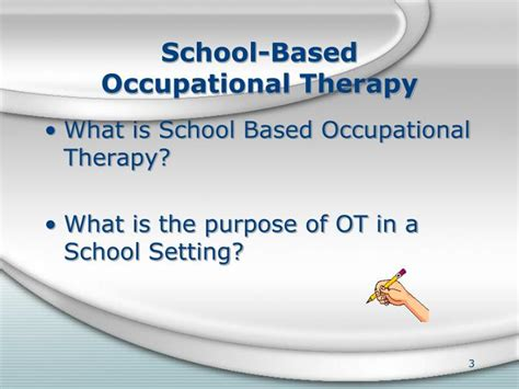 purpose of therapy ppt school based related services powerpoint