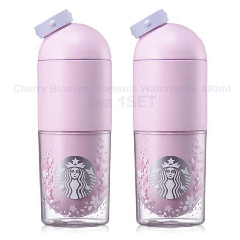 Starbucks Korea Waterbottle Starbucks Tumbler starbucks korea 2017 cherry blossom capsule waterbottle 490ml 2ea 1set starbucks cherry