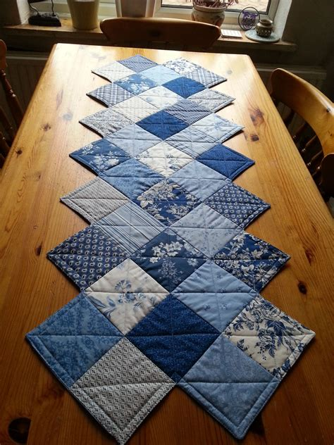 zig zag table runner a zig zag table runner made with a charm pack pattern