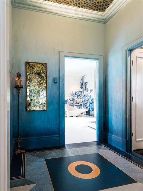 home design gold free photos hgtv blue and gold art deco vestibule idolza