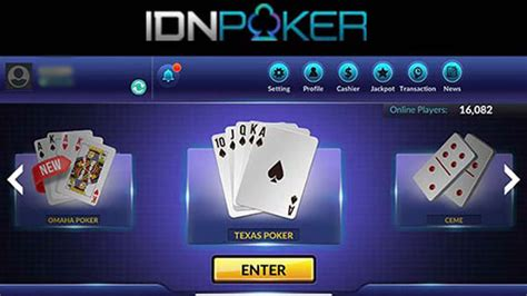 idn poker asia android  ios idn poker mobile