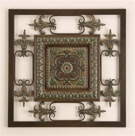 square metal wall decor square metal wall plaque decor sculpture hanging