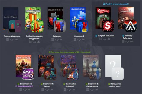 humble bundle android humble bundle pc and android 11 brings 11 for 11