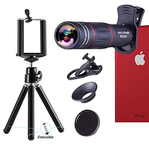 telephoto lens 18x telephoto zoom lens kit optical telescope zoom lens attachment