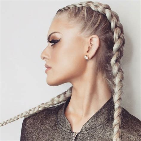 hairstyles for braided hair extensions hotloxs hair extensions ash blonde boxer style double