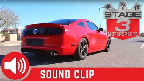 2014 mustang exhaust sounds 2011 2014 mustang gt 5 0l performance cat back