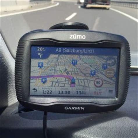 Motorrad Navi Test Garmin Zumo 390lm by Garmin Zumo 395lm Test Motorrad Navigation