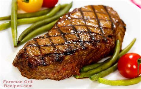 foreman grill new york strip steak foreman grill recipes
