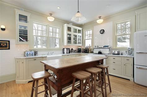 Vintage Kitchen Island Ideas Vintage Kitchen Cabinets Decor Ideas And Photos