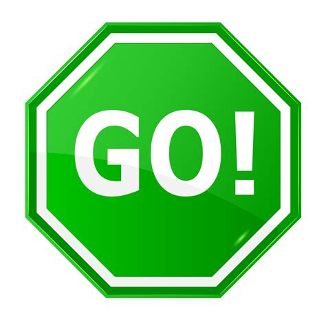 Go after it!   Christina Nimergood   Peak Performance ... Go Sign Clip Art