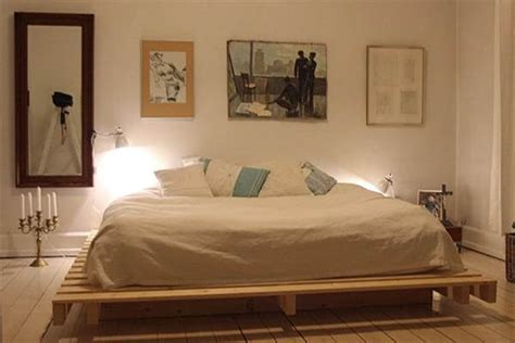 how to make pallet bed how to make a wood pallet platform bed discover woodworking projects