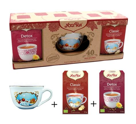 Detox Thee Yogi by Yogi Tea Cup Bundle 2 Detox Classic Thee Webwinkel