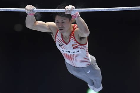 king kohei aiming for seventh gold at artistics gymnastics worlds quot king kōhei quot aiming for seventh straight all around crown