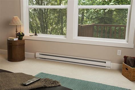 Electric Baseboard Heaters   Max and Minimum Spacing
