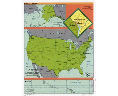 usa elevation map maps of the usa the united states of america political