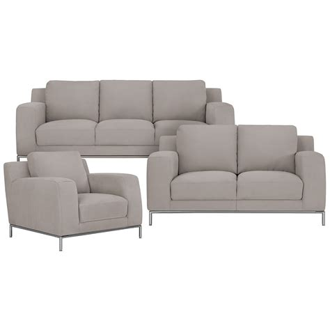 furniture light grey upholstered microfiber bedroom side gray sofa with nailhead trim go to image page sectionals