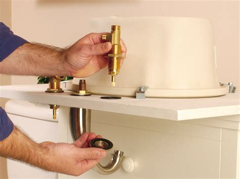 how do you install a bathroom faucet how to install a bathroom faucet