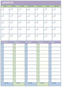 Weekly calendar template plan daily or weekly tasks