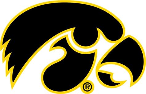 Custom Home Decor Signs by University Of Iowa Decals Iowa Hawkeyes Tigerhawk