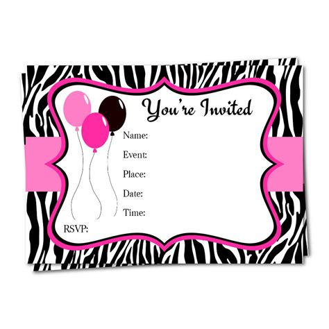 printable birthday invitations for 14 year olds blank birthday invitations for girls www imgkid com