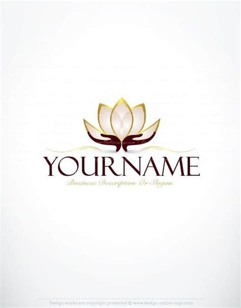 exclusive logo design lotus flower logo images