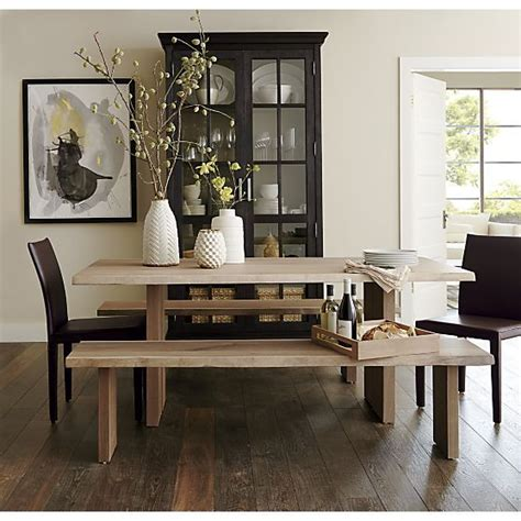 crate and barrel dakota table dining table crate barrel dakota dining table