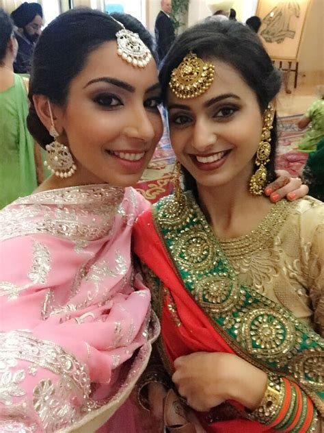 Punjabi wedding, Pearls and Jewellery earrings on Pinterest
