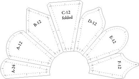 how to make a dresden plate template gallery of dresden plate fan collection quilt templates
