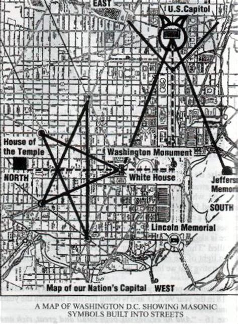 washington dc map masonic washington map masonic symbols