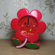 Unique Alarm Clocks Moon/Flower ABS Plastic Small Silent