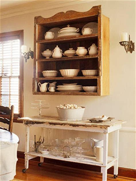 wall hanging china cabinet old sweetwater cottage chai tea latte decor