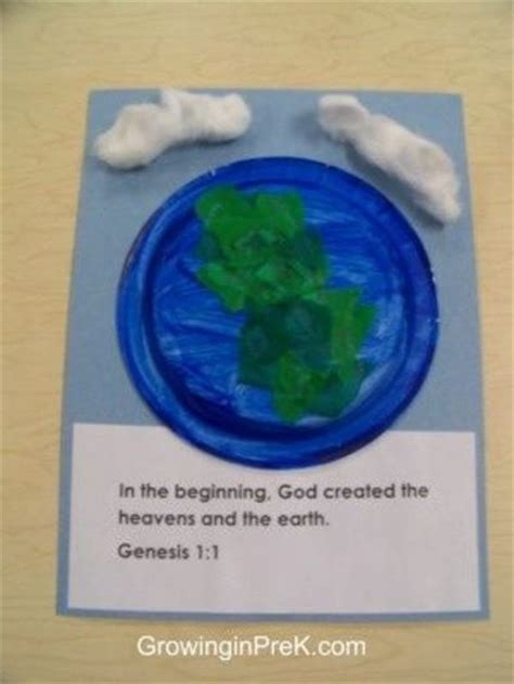 craft creations for craft for genesis 1 1 quot in the beginning god created the