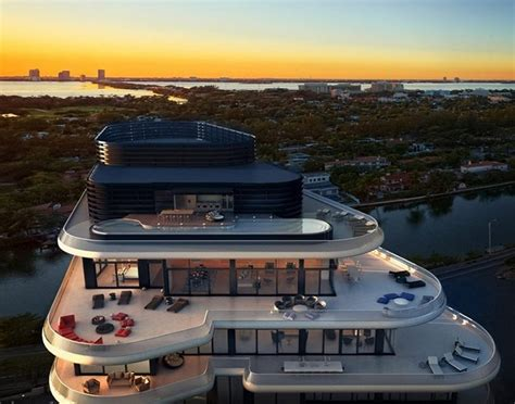 Faena Penthouse | faena house miami beachside penthouse with layers of luxury
