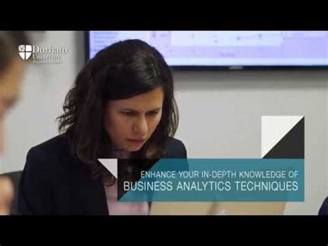 Mba Pathways by The Durham Mba Technology Pathway