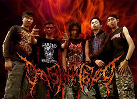 wallpaper sorban hitam darah minang squad band metal asal jawa barat