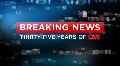 cnn news cnn press site cnn marks 35 years with a special report on