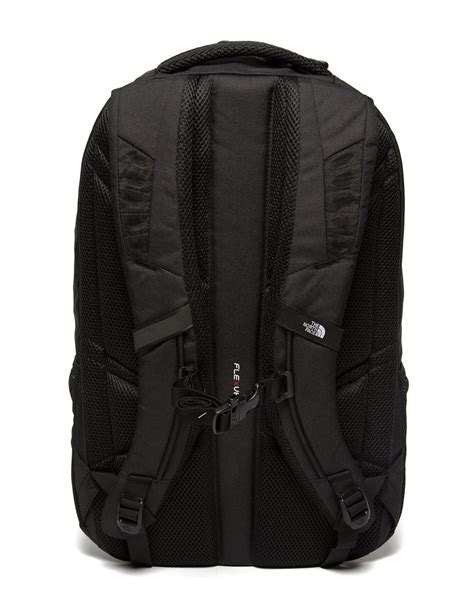 north face synthetic jester backpack  black  men lyst